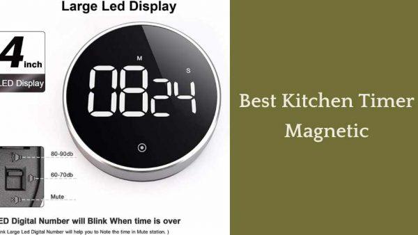 Best Kitchen Timer Magnetic