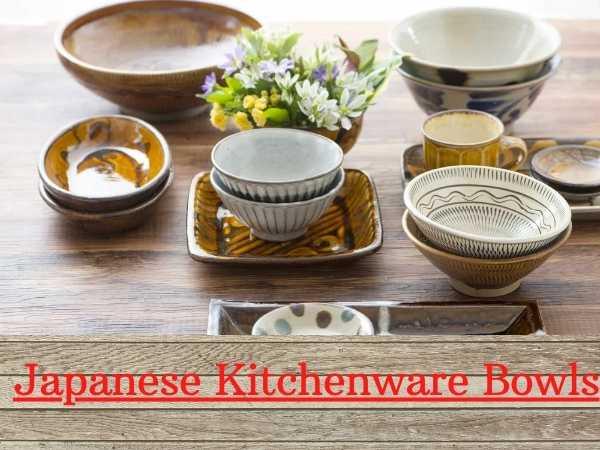 Japanese Kitchenware Bowls